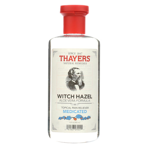 Thayers Topical Pain Reliever - Medicated Witch Hazel Aloe Vera - 12 Oz