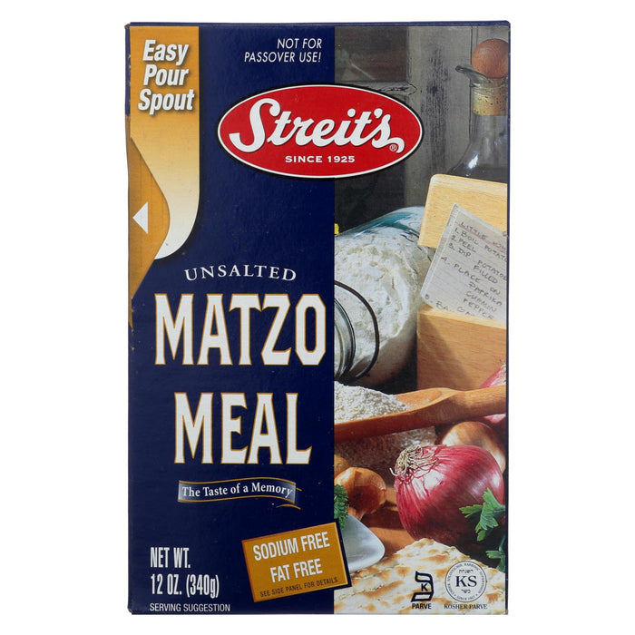 Streit's Matzo - Meal - Case Of 18 - 12 Oz.