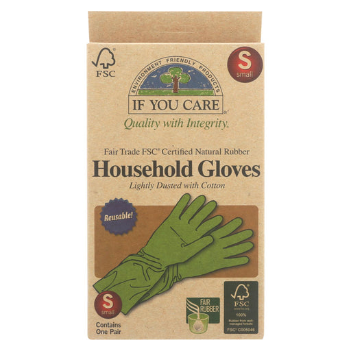 If You Care Household Gloves - Small - 12 Pairs