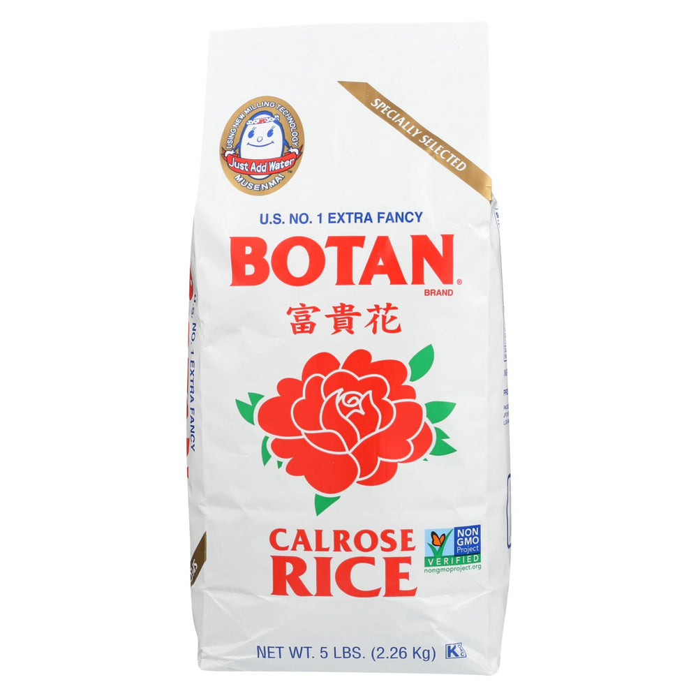 Botan Rice Rice - Calrose - Case Of 8 - 5 Lb.