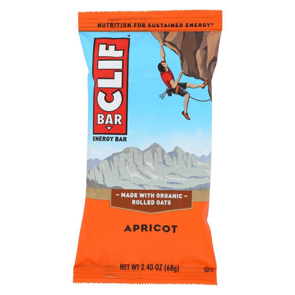 Clif Bar - Organic Apricot - Case Of 12 - 2.4 Oz