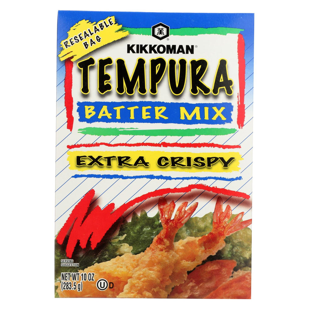 Kikkoman Batter - Tempura - Case Of 12 - 10 Oz