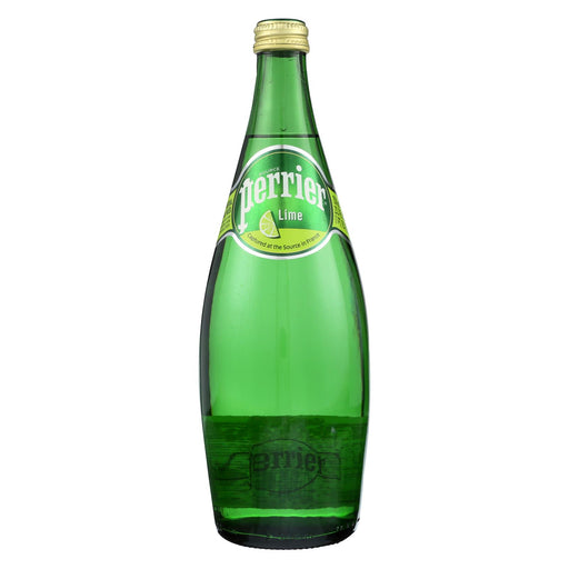 Perrier Sparkling Mineral Water - Lime - Case Of 12 - 25.3 Fl Oz.