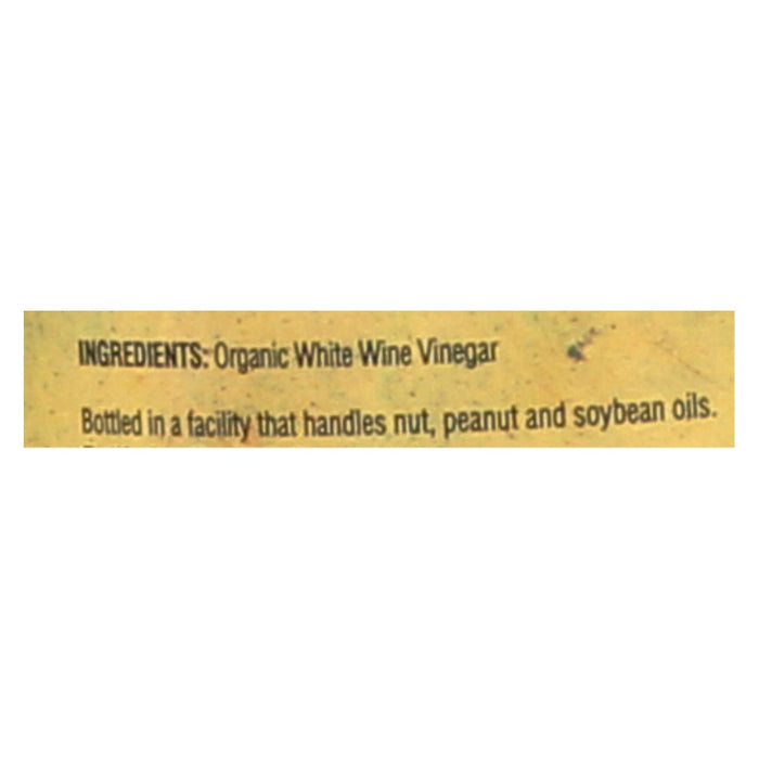 Napa Valley Naturals Organic White Wine - Vinegar - Case Of 12 - 12.7 Fl Oz.