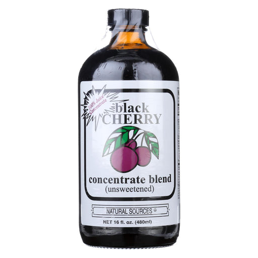 Natural Sources Black Cherry Concentrate - 16 Fl Oz