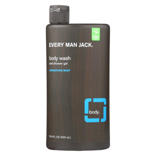 Every Man Jack Body Wash - Signature Mint - 16.9 Oz