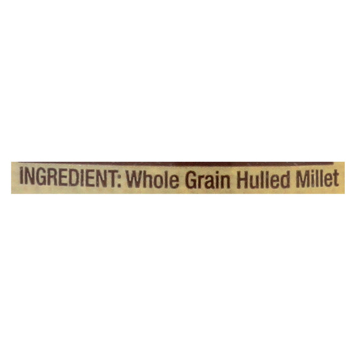 Bob's Red Mill Whole Grain Millet - 28 Oz - Case Of 4
