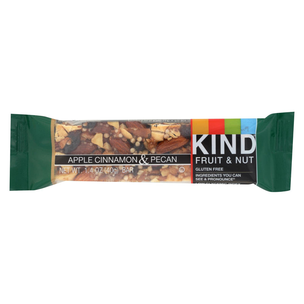 Kind Bar - Apple Cinnamon And Pecan - Case Of 12 - 1.4 Oz