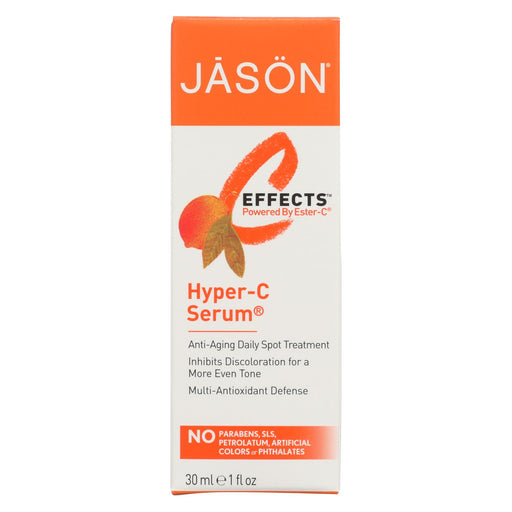 Jason C-effects Powered By Ester-c Pure Natural Hyper-c Serum - 1 Fl Oz