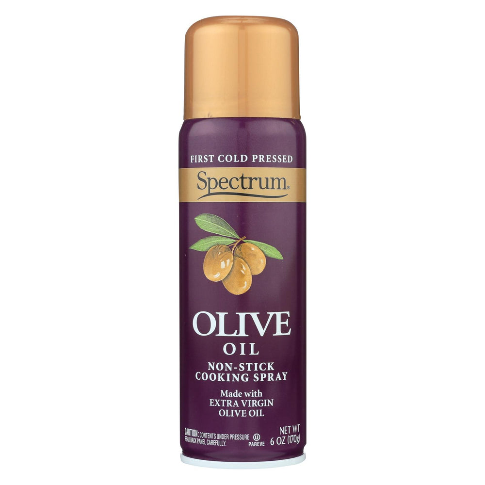 Spectrum Naturals Extra Virgin Olive Spray Oil - Case Of 6 - 6 Fl Oz.