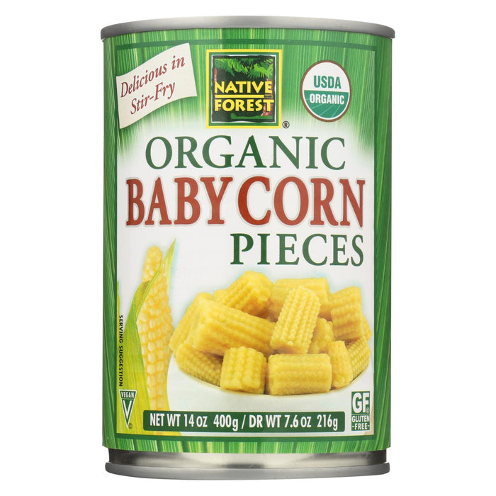Native Forest Organic Cut Baby - Corn - Case Of 6 - 14 Oz.