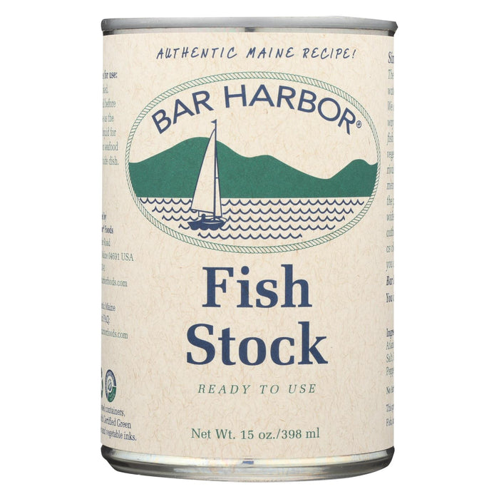 Bar Harbor Fish Stock - Case Of 6 - 15 Oz.