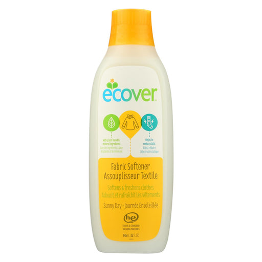 Ecover Fabric Softener - Sunny Day - Case Of 12 - 32 Fl Oz.