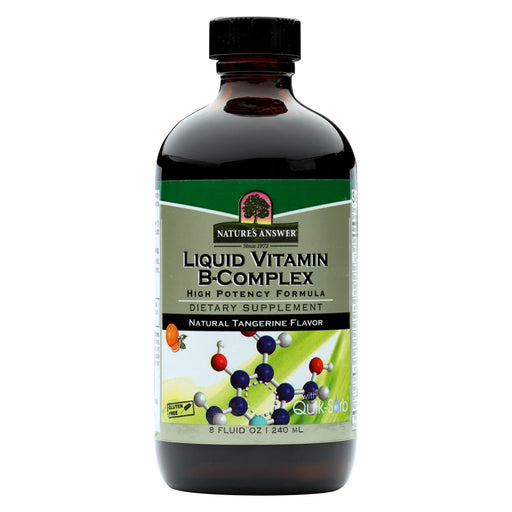 Nature's Answer Liquid Vitamin B-complex - 8 Fl Oz