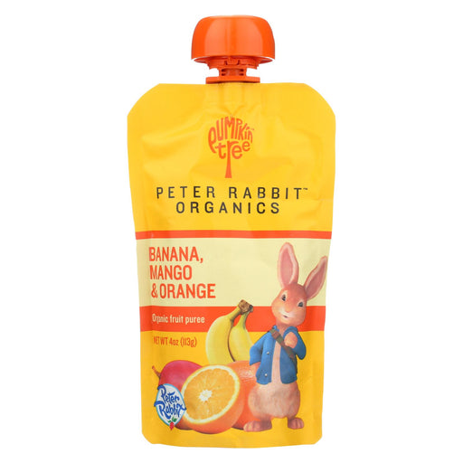 Peter Rabbit Organics Fruit Snacks - Mango Banana And Orange - Case Of 10 - 4 Oz.