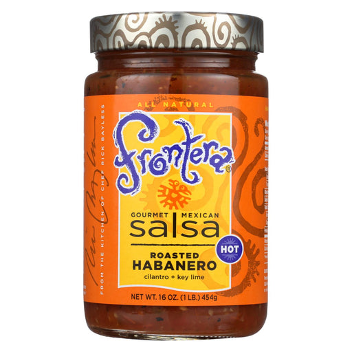 Frontera Foods Habanero Lime Salsa - Salsa - Case Of 6 - 16 Oz.