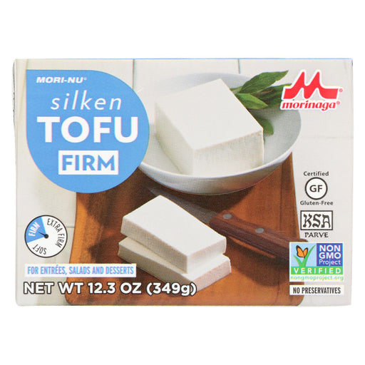 Mori-nu Silken Tofu - Firm - Case Of 12 - 12.3 Oz.