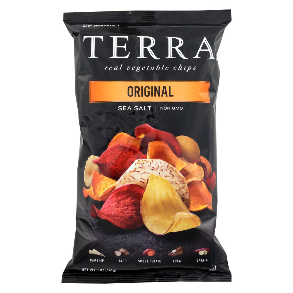 Terra Chips Exotic Vegetable Chips - Original - Case Of 12 - 5 Oz.
