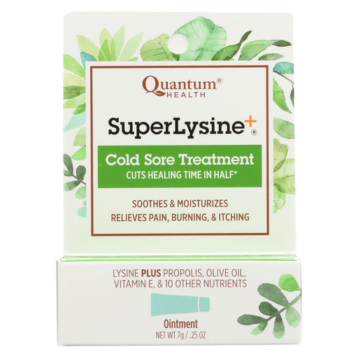 Quantum Super Lysine Plus Cold Sore Treatment - 0.25 Oz