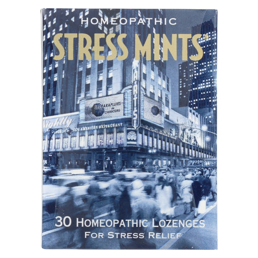 Historical Remedies Homeopathic Stress Mints - 30 Lozenges - Case Of 12
