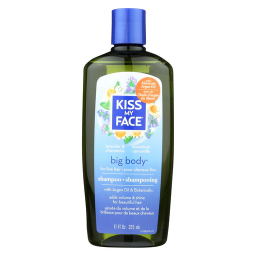Kiss My Face Big Body Shampoo Lavender And Chamomile - 11 Fl Oz