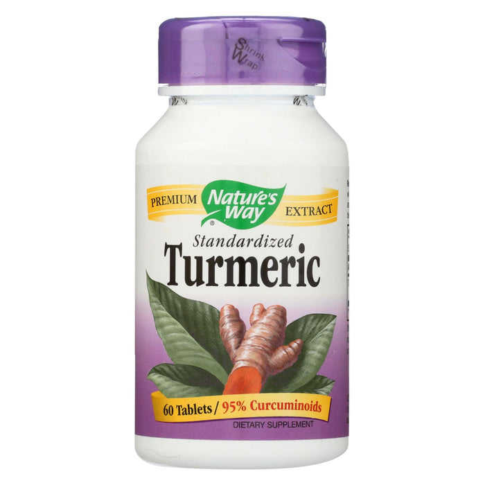 Nature's Way Turmeric Standardized - 60 Tablets