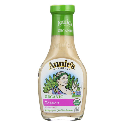 Annie's Naturals Organic Dressing Caesar - Case Of 6 - 8 Fl Oz.