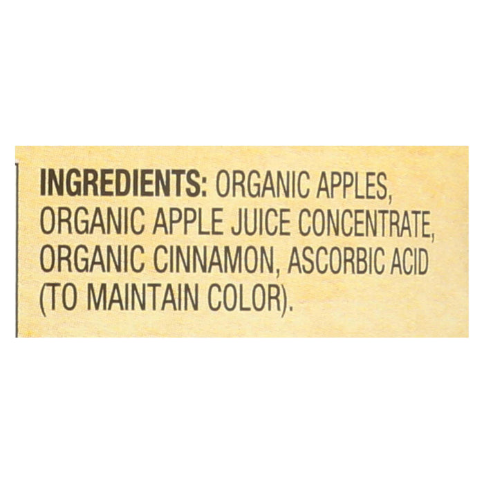 Santa Cruz Organic Apple Sauce - Cinnamon - Case Of 12 - 23 Oz.