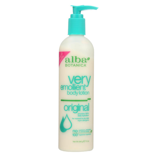 Alba Botanica Very Emollient Body Lotion Original - 12 Fl Oz
