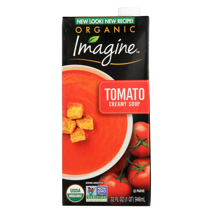 Imagine Foods Tomato Soup - Tomato Soup - Case Of 12 - 32 Oz.