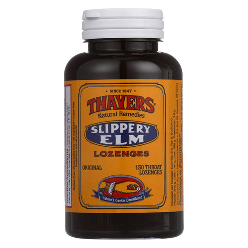 Thayers Slippery Elm Lozenges Original - 150 Mg - 150 Lozenges