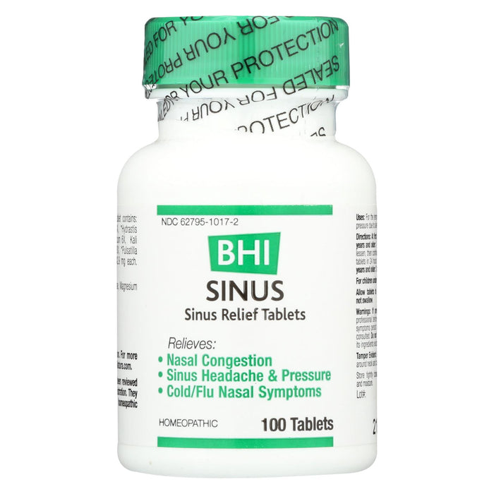 Bhi Sinus Relief - 100 Tablets