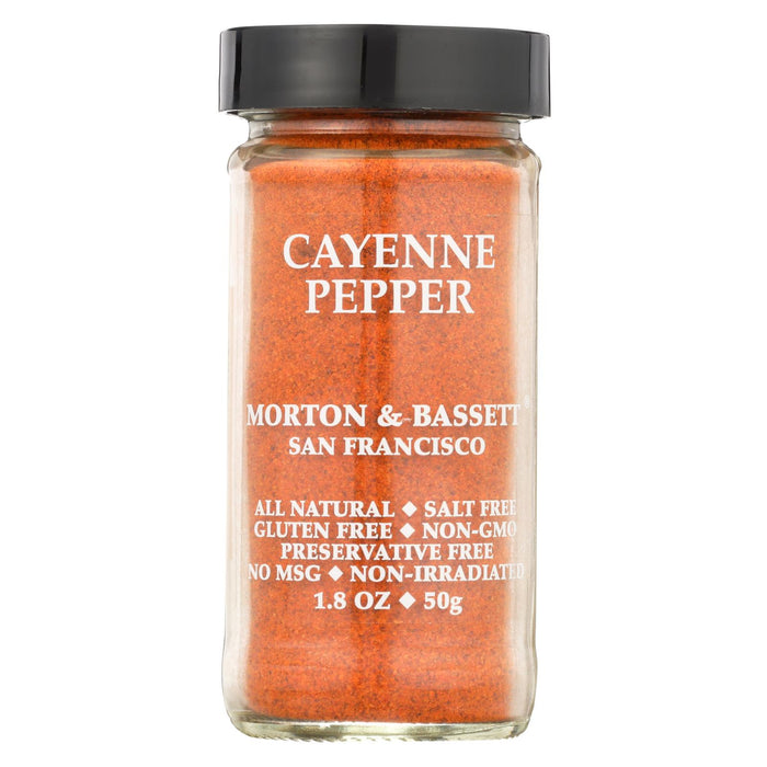 Morton And Bassett Cayenne Pepper - 1.6 Oz - Case Of 3