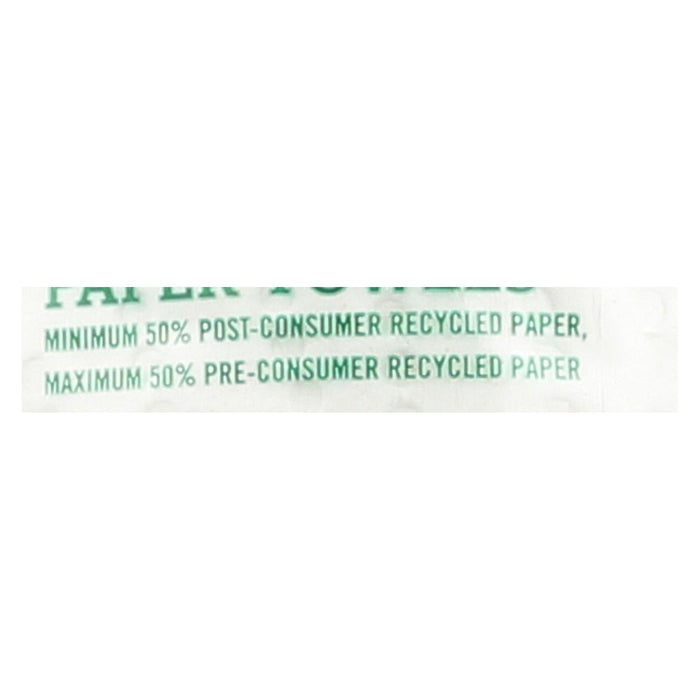 Seventh Generation Paper Towels - White - 156 Sheet Roll - Case Of 24