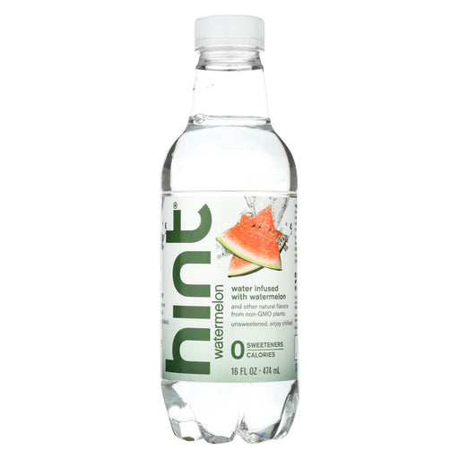 Hint Watermelon Water - Watermelon - Case Of 12 - 16 Fl Oz.
