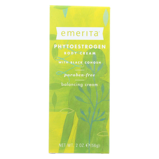 Emerita Phytoestrogen Body Cream - 2 Oz