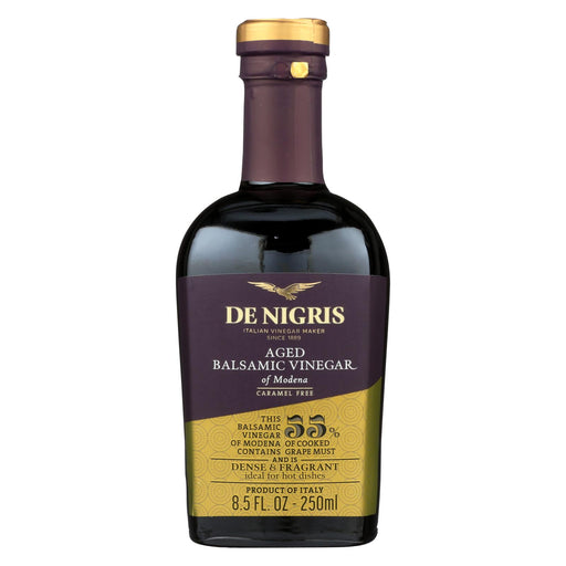 De Nigris Vinegar - Aged Balsamic - Case Of 6 - 8.5 Fl Oz