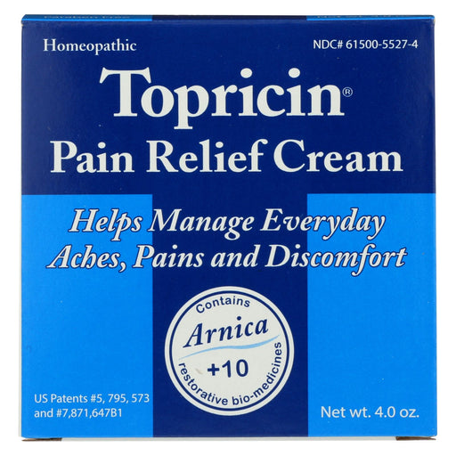 Topricin Topricin Cream Jar - 4 Oz