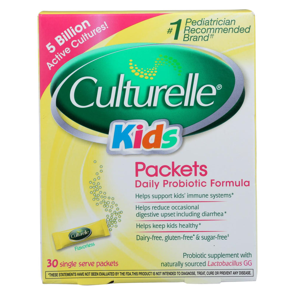 Culturelle Probiotics For Kids - 30 Packets