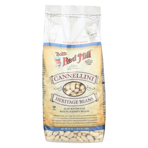Bob's Red Mill Cannellini Beans - 24 Oz - Case Of 4