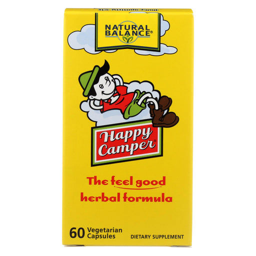 Natural Balance Happy Camper - 60 Vegetarian Capsules