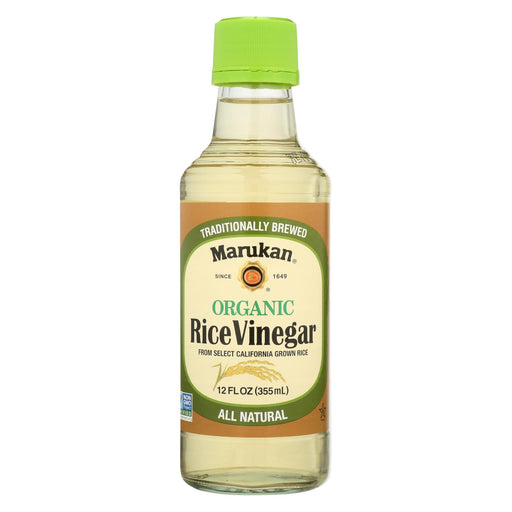 Marukan Organic Rice Vinegar - Case Of 6 - 12 Fl Oz.