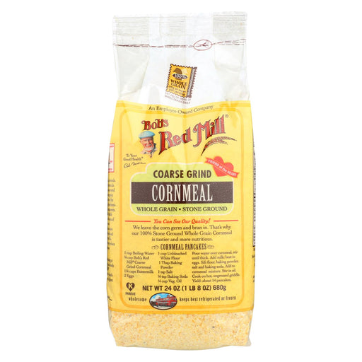 Bob's Red Mill Coarse Grind Cornmeal - 24 Oz - Case Of 4