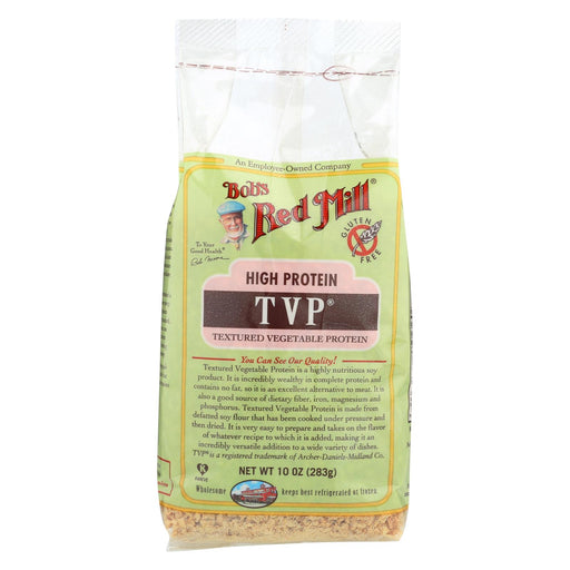 Bob's Red Mill Tvp (textured Vegetable Protein) - 10 Oz - Case Of 4
