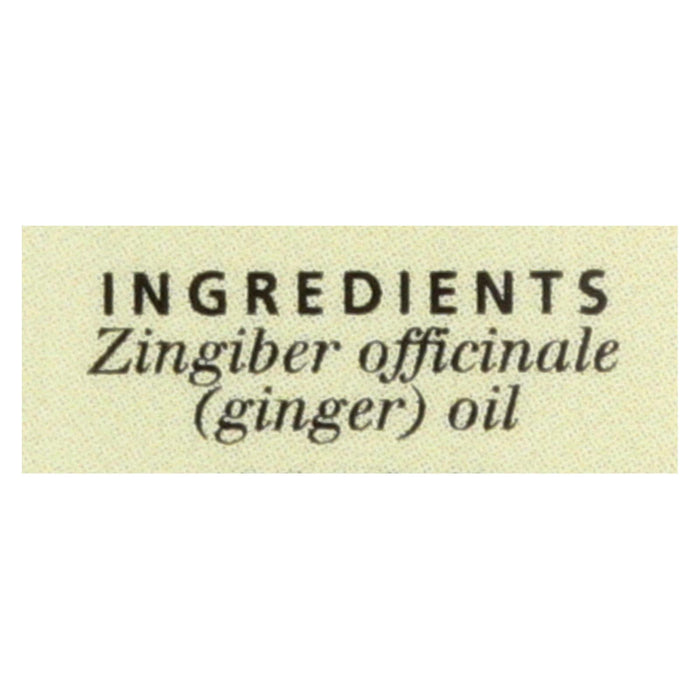 Aura Cacia Essential Oil Ginger - 0.5 Fl Oz