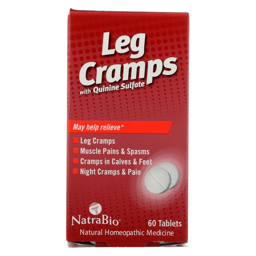 Natrabio Leg Cramps With Quinine Sulfate - 60 Tablets