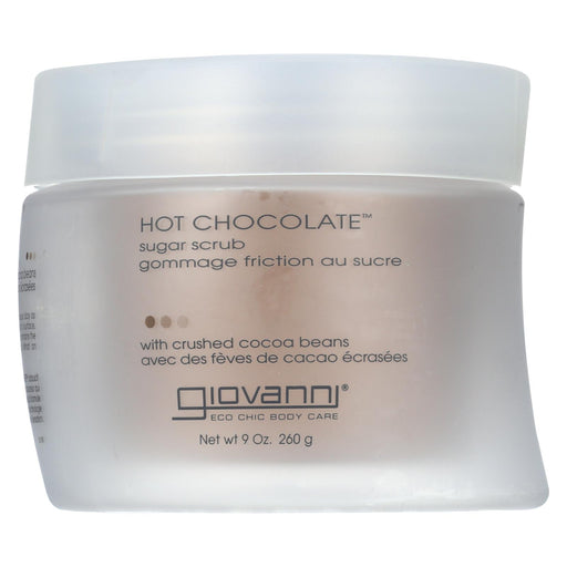 Giovanni Sugar Scrub Hot Chocolate - 9 Oz