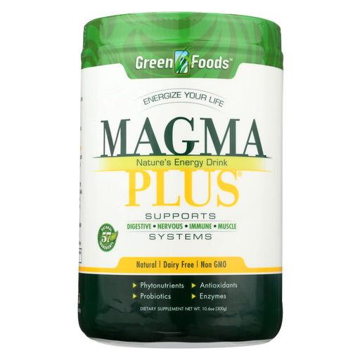 Green Foods Magma Plus Powder - 11 Oz