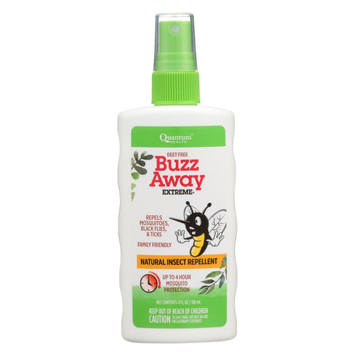 Quantum Buzz Away Extreme Insect Repellent - 4 Fl Oz