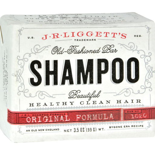 J.r. Liggett's Old-fashioned Bar Shampoo The Original Formula - 3.5 Oz